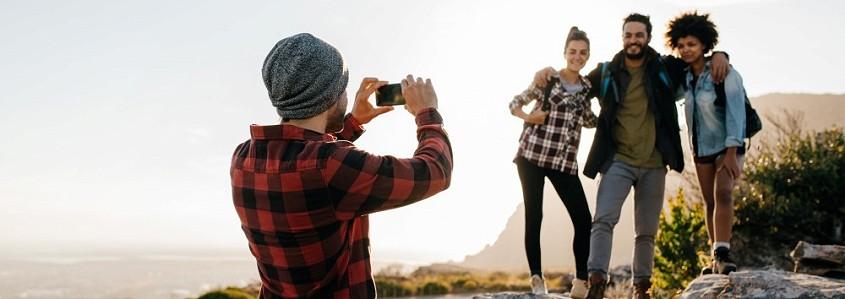 Kaip fotografuoti(s) telefonu, kad kelionių nuotraukos išeitų tobulos