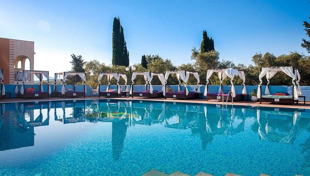 2022 m. vasara: savaitė Korfu saloje  4★ Michelangelo Resort viešbutyje su viskas įskaičiuota už 425€