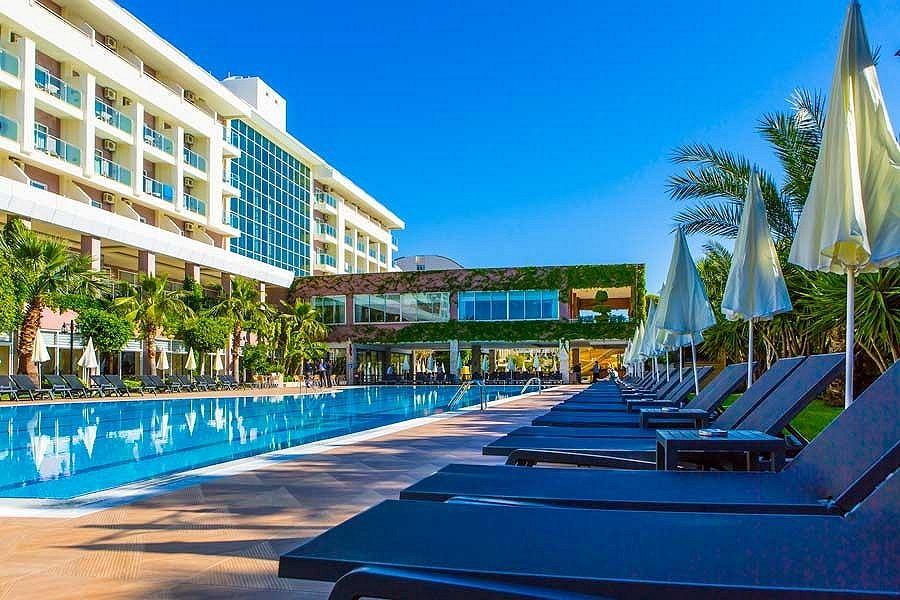 2022 m. Turkijoje: vasara 5★ Primasol Telatiye Resort viešbutyje su viskas įskaičiuota vos 369€