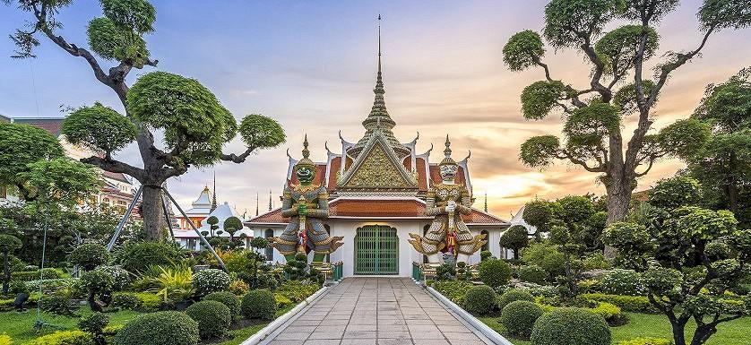 Tailando skoniai nuo Bankoko iki Čiangmajaus