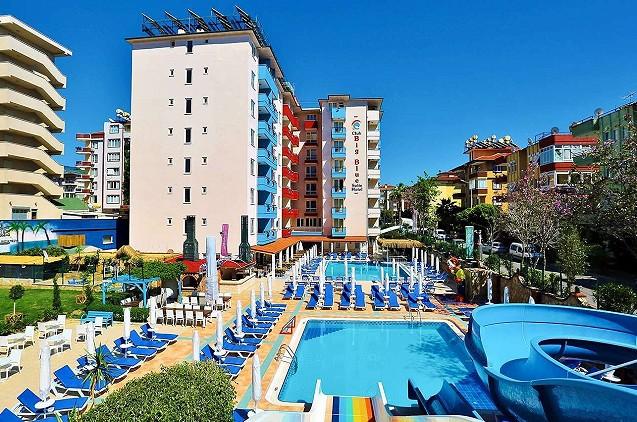 Vasaros atostogos Turkijoje: savaitė 4★ Club Big Blue Suite viešbutyje su viskas įskaičiuota tik 465€