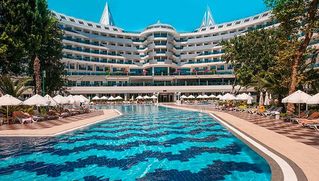 Prabangus poilsis Turkijoje: 5★ Botanik Platinum viešbutis su viskas įskaičiuota Turkijoje už 635€