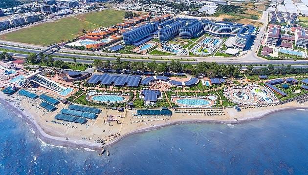 Šeimų rojus: 5★ Eftalia Ocean viešbutis Turkijoje su ultra viskas įskaičiuota tik 453€, keliaujant su vaikais