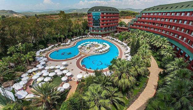 Poilsis Turkijoje : 5★ Delphin Deluxe viešbutis Turkijoje su ULTRA VISKAS ĮSKAIČIUOTA tik nuo 649€