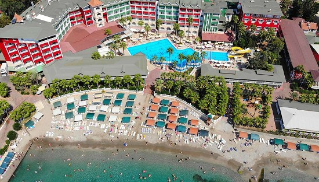 Turkija : savaitė 5★ Kemal Bay viešbutyje Turkijoje su viskas įskaičiuota tik 510€