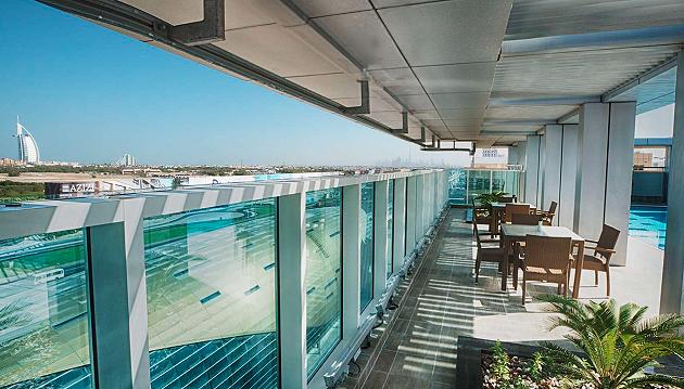 Paskutinė minutė Dubajuje: savaitės poilsis  4★ viešbutyje Rose Park Hotel Al Barsha su pasirinktu maitinimu nuo 595€