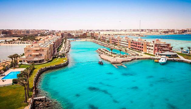 Net dvi savaites ilsėkites Egipte: 4★ Sunny Days Spa & Aqua Park viešbutis Hurgadoje su viskas įskaičiuota tik